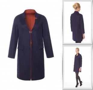 Синие пальто, пальто московская меховая компания,