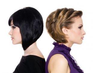 Стрижка боб на короткие волосы, варианты вечерних причесок на короткие волосы