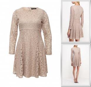 Бежевые платья, платье dorothy perkins, весна-лето 2016