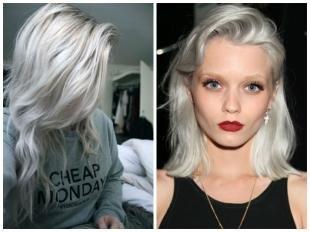 """Пепельный цвет волос на длинные волосы, цвет волос """"пепельный блонд"""""""
