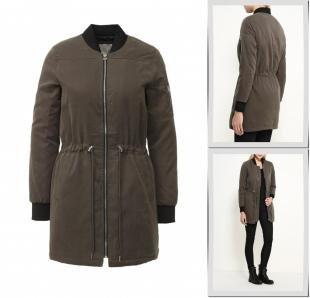 Хаки куртки, куртка springfield, осень-зима 2016/2017