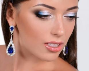 Идеальный макияж, красивый вечерний макияж для карих глаз