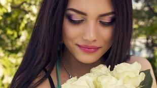 Макияж для серых глаз, роскошный вечерний макияж