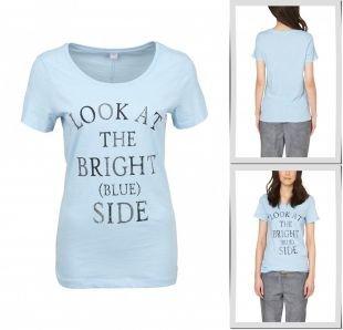 Бронзовые футболки, футболка s.oliver, весна-лето 2015