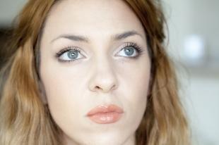 Естественный макияж для серо-голубых глаз, красивый макияж для серо-голубых глаз