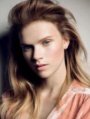 Быстрый макияж на каждый день, макияж на 1 сентября в персиковой гамме