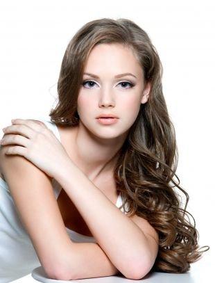 Макияж для русых волос и серых глаз, естественный макияж для выпускницы