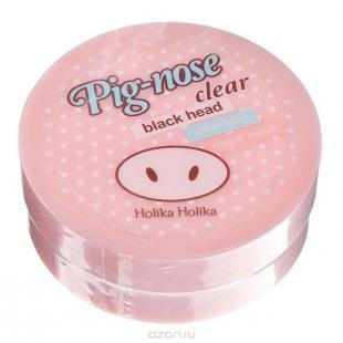 """Отбеливающий скраб, holika holika pignose """"пиг-ноуз"""" очищающий сахарный скраб, 30 мл"""