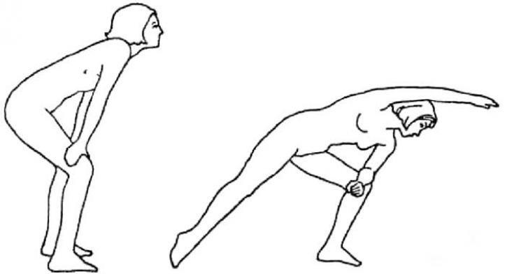 Боковая растяжка - базовый комплекс упражнений Бодифлекс