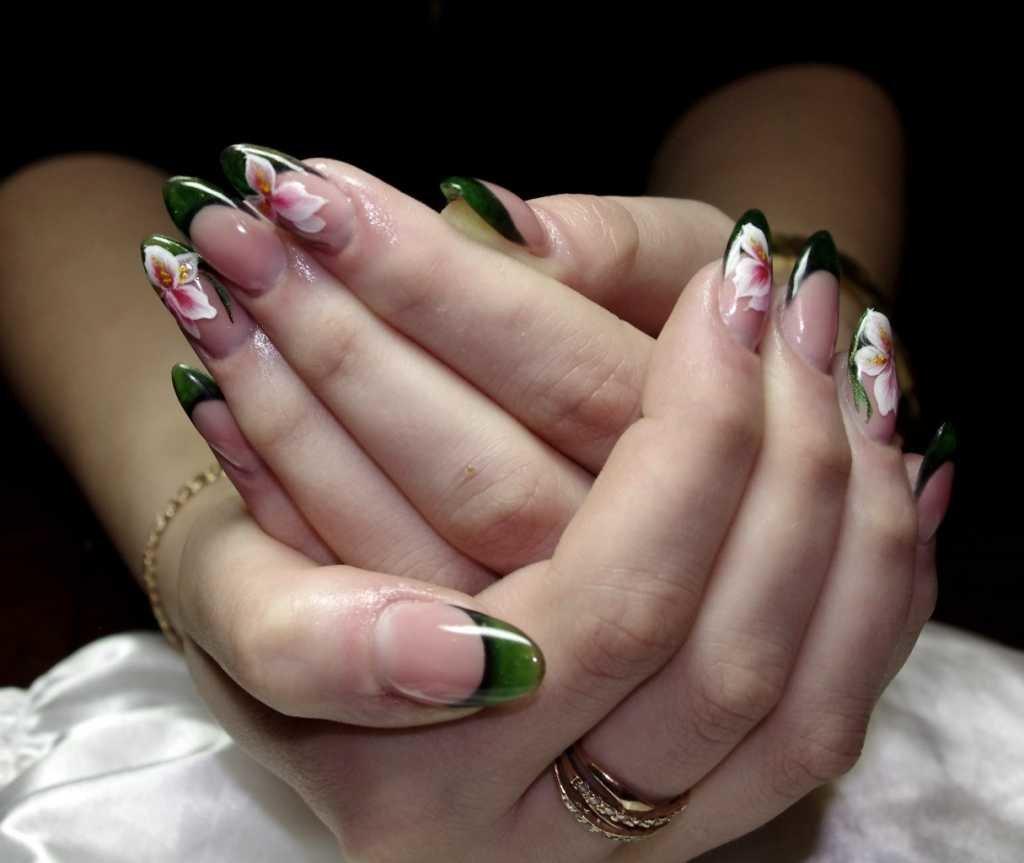 Китайская роспись ногтей: основные мазки, пошаговая