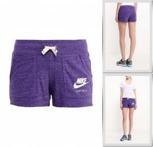 Фиолетовые шорты, шорты nike, весна-лето 2016