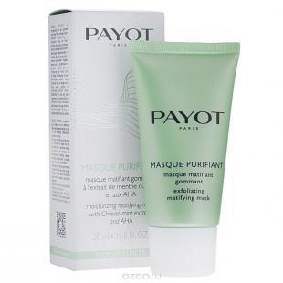 Скраб для жирной кожи, payot маска-скраб для лица, очищающая, для жирной кожи, 50 мл