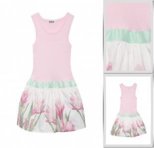 Розовые платья, платье gulliver, весна-лето 2016
