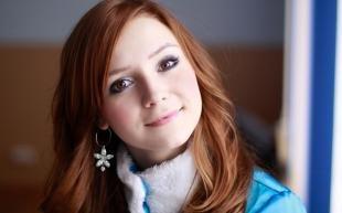Макияж для круглого лица с карими глазами, макияж снегурочки с карими глазами