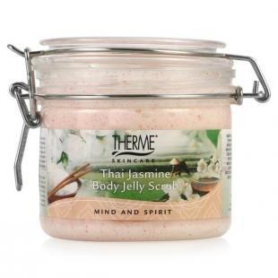 Тайский скраб для тела, скраб-желе для тела therme тайский жасмин, 350 мл