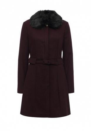 Бордовые пальто, пальто dorothy perkins, осень-зима 2016/2017