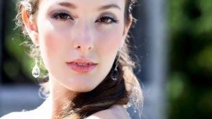 Свадебный макияж для маленьких глаз, изящный летний макияж