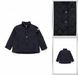 Синие куртки, куртка утепленная il gufo, весна-лето 2016