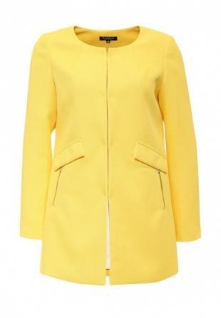 Желтые пальто, пальто morgan, весна-лето 2016