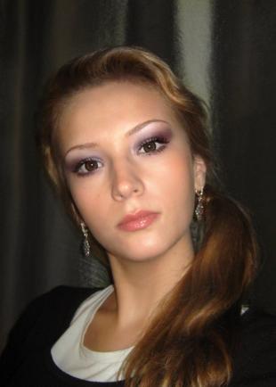 Макияж для больших карих глаз, праздничный макияж для кареглазой выпускницы