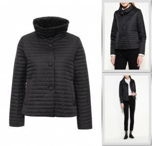 Черные куртки, куртка утепленная geox, осень-зима 2016/2017