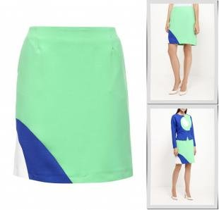 Зеленые юбки, юбка d.va, осень-зима 2016/2017
