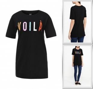 Черные футболки, футболка твое, осень-зима 2016/2017