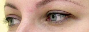 Татуаж глаз, аккуратный татуаж глаз - стрелки