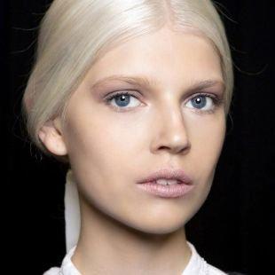 Макияж для блондинок с голубыми глазами, весенний макияж для серо-голубых глаз