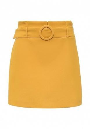 Желтые юбки, юбка topshop, осень-зима 2016/2017