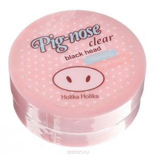 """Эффективный скраб от черных точек, holika holika pignose """"пиг-ноуз"""" очищающий сахарный скраб, 30 мл"""