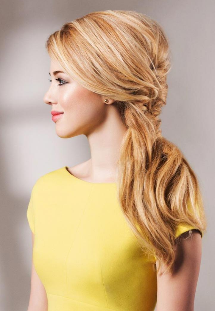 Стильные прически на длинный волос