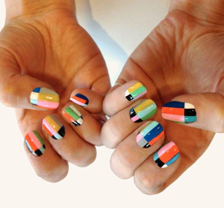 Летний дизайн ногтей шеллак фото